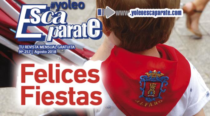 Ya puedes leerESCAPARATE ALFARO AGOSTO especial Fiestas en honor a San Roque y San Ezequiel…