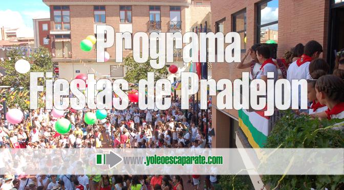 Programa de Actos de la Fiestas en honor a San Antonio de Padua en Pradejón