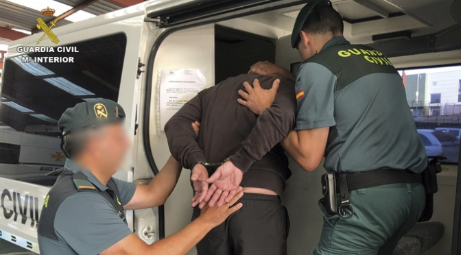 La Guardia Civil detiene a un huido de la justicia por una agresión sexual cometida en el año 2017 en La Rioja