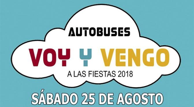 Voy y vengo a Fiestas de Aldeanueva de Ebro