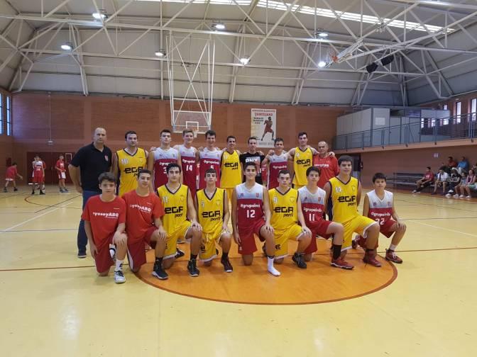 Primeros entrenamientos y partidos de los equipos de ABQ Calahorra