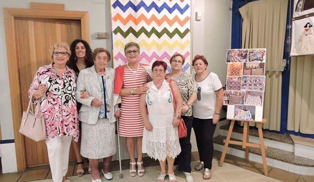 """21 exposición de """"Almazuelas con telas y colores"""""""