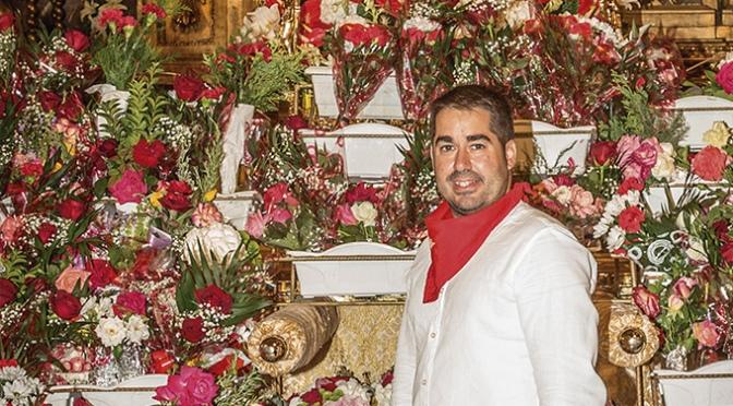 Fran Medina, autor del cartel anunciador de las Fiestas de Azagra