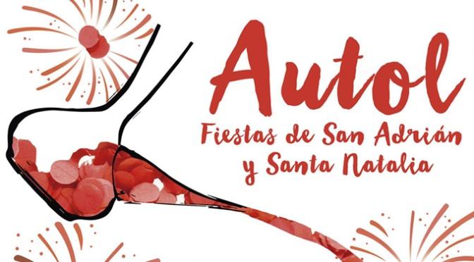 """""""Del porrón al pueblo"""" es la obra de Francisco Mazo Barco, elegido como cartel anunciador de las Fiestas de Autol"""
