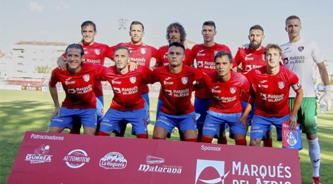 El CD Calahorra imparable tras su triunfo por 2-0 a la UD Logroñés