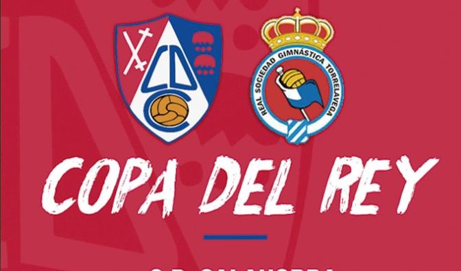 El CD Calahorra se estrena esta temporada en la Copa del Rey