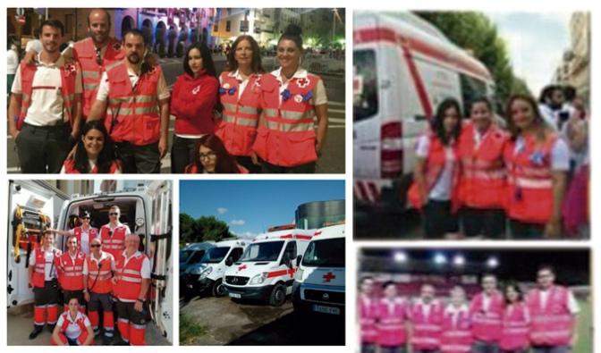 Balance de Cruz Roja sobre las fiestas de Agosto