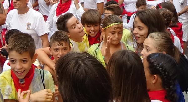 El día de las niñas y niños en Azagra