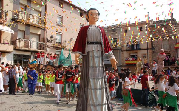Día de los Santos en la fiestas de Autol