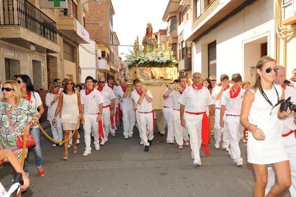 Día de la Virgen del olmo en Azagra