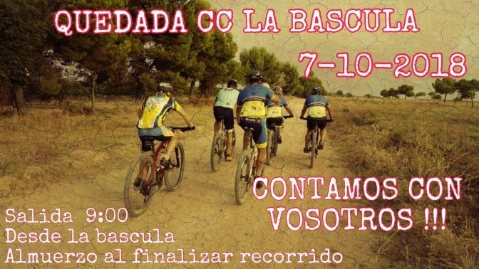 Quedada del Club Ciclista La Báscula de Rincón de Soto