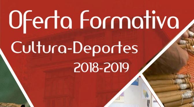 La oferta formativa municipal de Calahorra esta compuesta por 10 cursos culturales y 4 deportivos