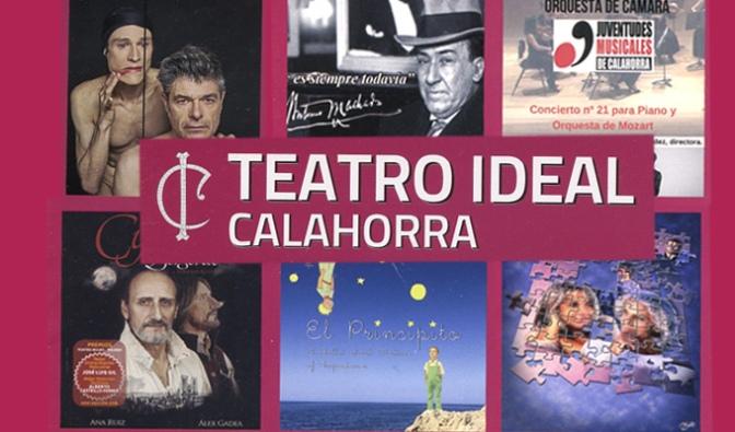 Programación de Octubre en el Teatro Ideal