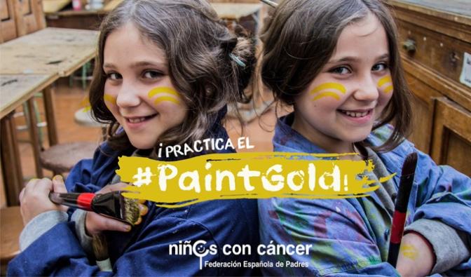 Únete al #PaintGold ¡Enciende la Esperanza!