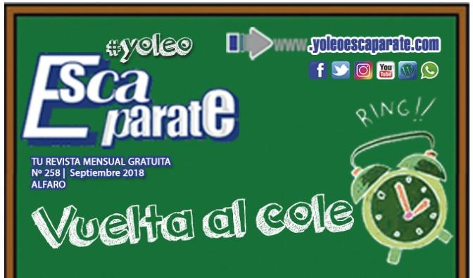 Alfaro Septiembre especial Vuelta al cole ya disponible en los mejores establecimientos y on line