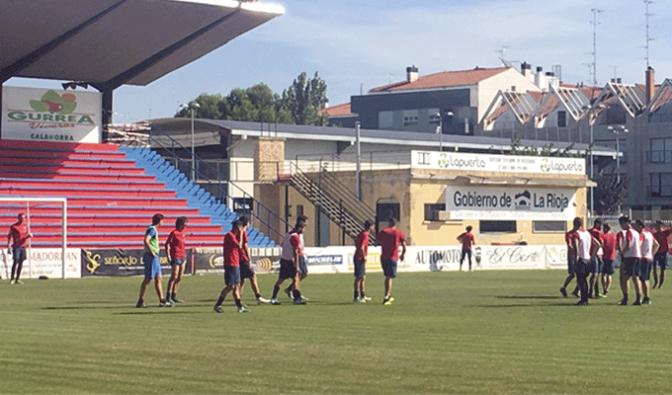 Convocatoria para el partido Real Sociedad B- CD Calahorra de mañana en San Sebastián