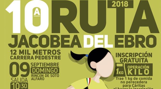 """Celebración de la Carrera de atletismo """"Ruta Jacobea Del Ebro"""""""