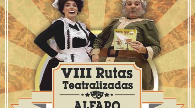 Este sábado penúltima ruta teatralizadas en Alfaro