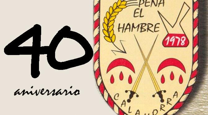 La Peña El Hambre celebre este fin de semana su cuarenta cumpleaños
