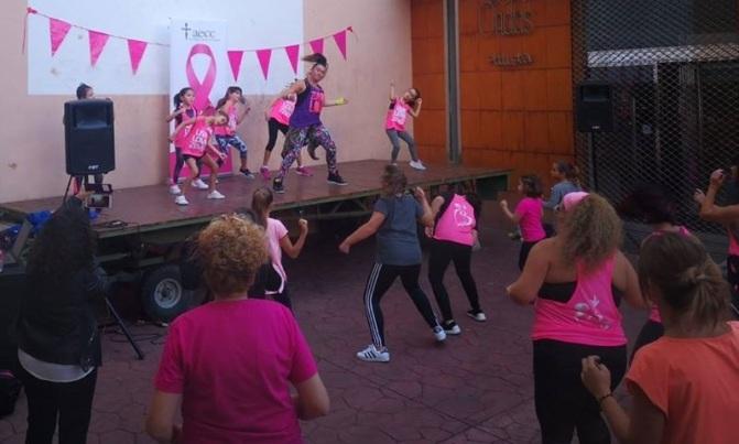 Masterclass de zumba en el Pink Weekend de Calahorra