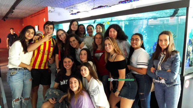 Alumnos de Agustinos visitan la Casa de las Ciencias de San Sebastián