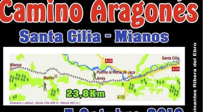 Camino Aragonés este domingo 7 de Octubre