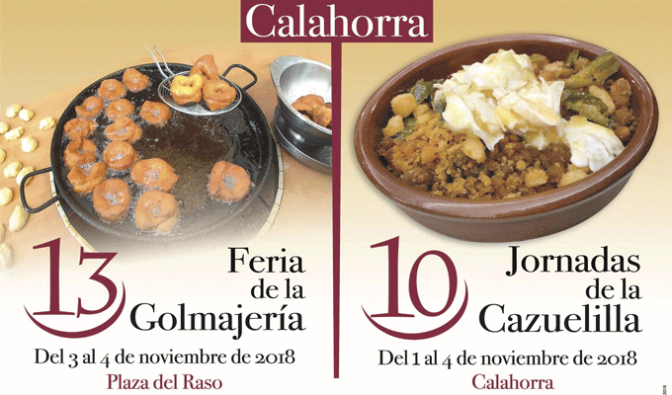 Planes gastronómicos para el Puente de Noviembre en Calahorra