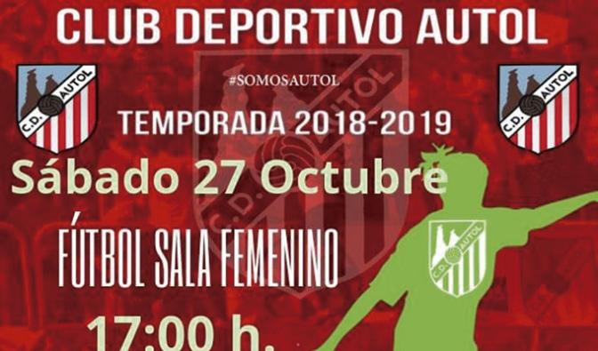 Debut en fútbol sala femenino este sábado en Autol