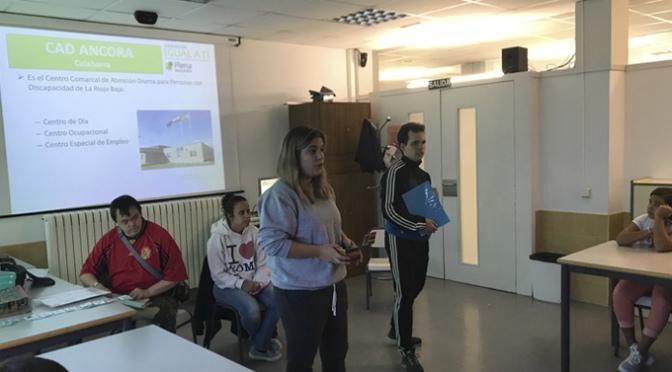 La discapacidad se acerca a las aulas en el CEO Villa de Autol