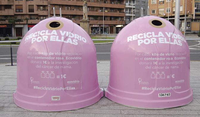 #ReciclaVidrioPorEllas