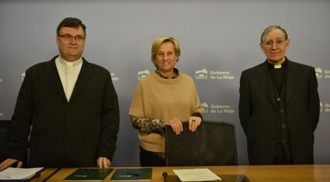 El Gobierno de La Rioja aporta más 468.000 euros a la Diócesis para obras de restauración