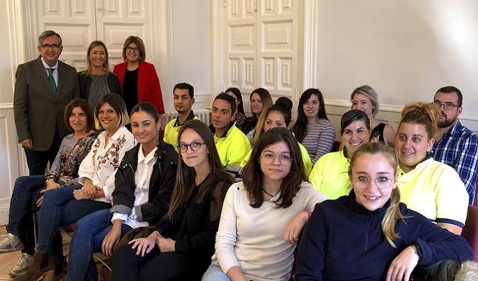 Diecisiete nuevos contratados en el Ayuntamiento de Calahorra