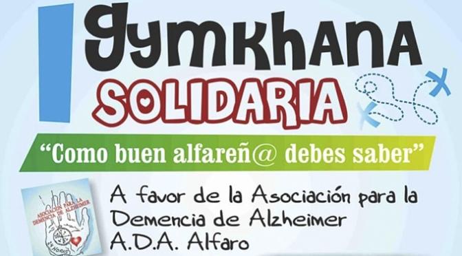 Gimkhana Solidaria a favor de la Asociación para la Demencia de Alzheimer de Alfaro
