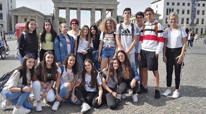Los alumnos del IES Valle del Cidacos de intercambio con alumnos alemanes