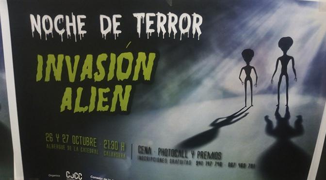 Invasión alienígena en la nueva edición de las Noches de terror del Consejo de la Juventud Comarcal de Calahorra