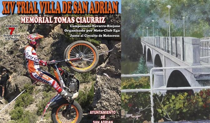 Domingo completo en San Adrián con Trial y Concurso de Pintura al aire libre