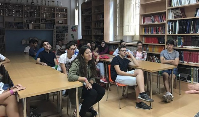 Charlas de Orientación académica para los alumnos de Bachillerato de Agustinos