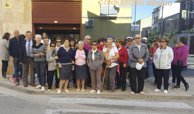 Hoy han comenzado los Paseos Saludables en Pradejon