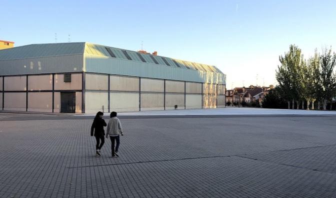 El patio del colegio Aurelio Prudencio abre fuera del horario lectivo para ofrecer más espacios de ocio y deporte