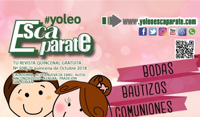 Consejos para una celebración perfecta en ESCAPARATE, 2ª Quincena de Octubre