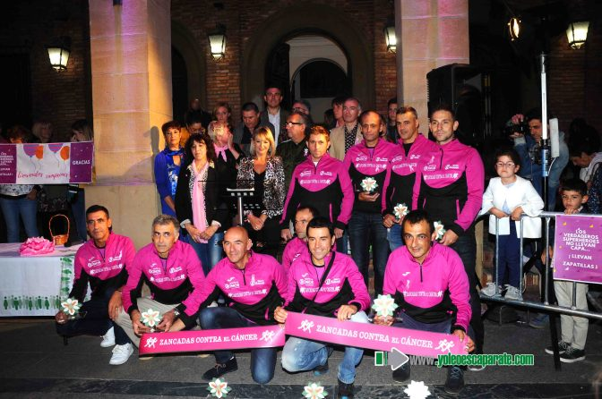 Galería: Zancadas contra el cáncer, recepción en Calahorra