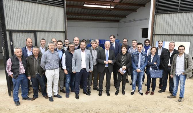Primer riego fotovoltaico de alta potencia en La Rioja