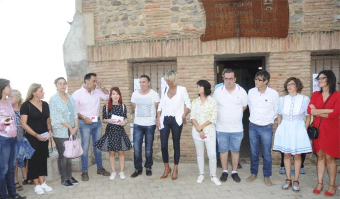 """Espectacular éxito del proyecto """"Una ronda con arte joven"""" del Consejo de la Juventud y la Asociación de Vecinos del Casco Antiguo"""
