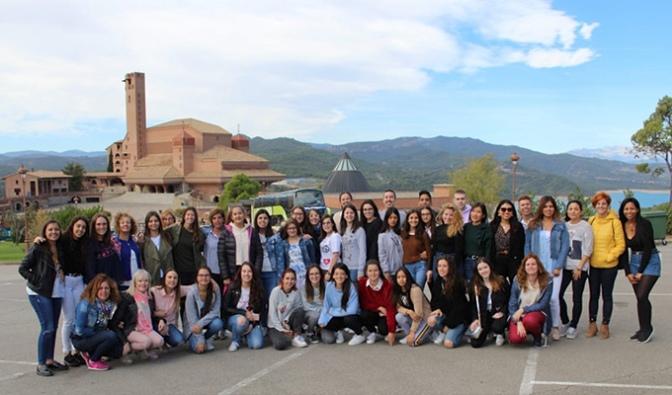 Centro de FP La Planilla celebra jornada de convivencia en el Santuario de Torreciudad