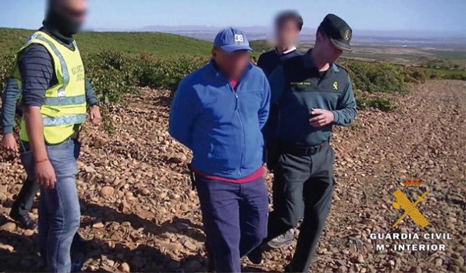 La Guardia Civil desmantela un grupo criminal que explotaba a trabajadores en La Rioja Baja