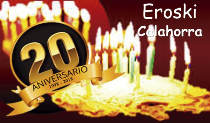 Eroski Calahorra celebra mañana su 20 aniversario