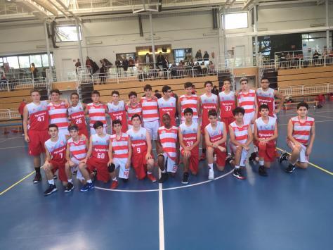 2018-11-03 Logrobasket vs. ABQ Calahorra cadete