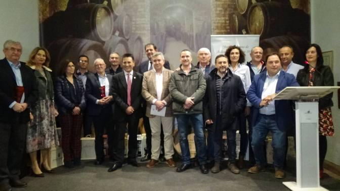 Presentación de los primeros riojas 2018 y Amigo del Vino de Aldeanueva de Ebro