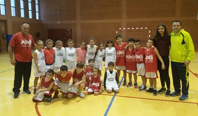 Comienzan las competiciones de minibasket de la ABQ Calahorra