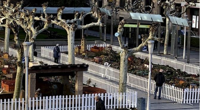 El belén municipal del paseo del Mercadal se inaugura el 1 de diciembre a las 19:30 horas